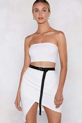 Nasty Gal Wrap Star Bandeau Top and Skirt Set
