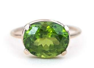 Wings Hawai'i Gold Peridot Ring