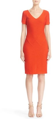 Women's St. John Collection Catalina Knit Sheath Dress $995 thestylecure.com