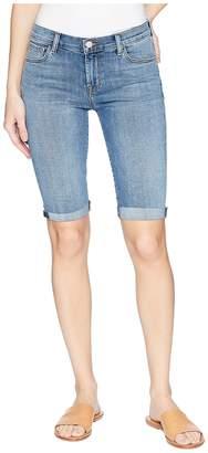 J Brand 811 Bermuda Shorts in Delphi Women's Jeans