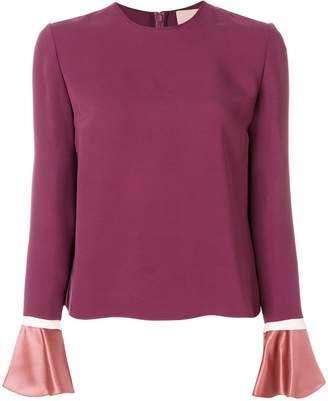 Roksanda Saba bell-sleeve blouse