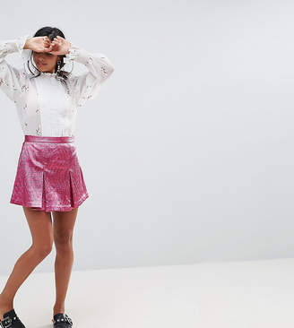 Sister Jane Petite Mini Skort With Pleats & Shorts Underlayer