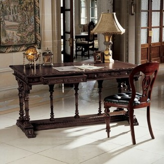 Toscano Design Chateau Chambord Executive Desk and Chair Set Design
