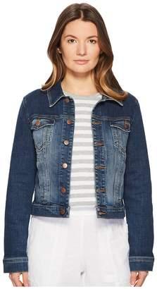 Eileen Fisher Crop Jean Jacket Women's Coat