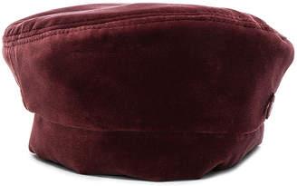 Maison Michel Florence Velvet Hat