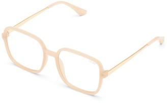 Quay Sunglasses Womens **Light Lens '9 To 5' Frames By Peach