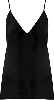 Raey V-neck silk cami top