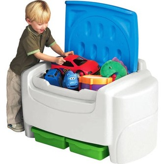 Little Tikes Sort 'N Store Toy Chest, Multiple Colors
