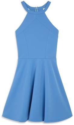Sally Miller Girls' Textured Knit Dress