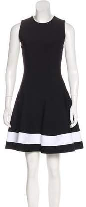Victoria Beckham Sleeveless Flared Dress