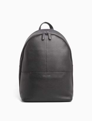 Calvin Klein leather round backpack