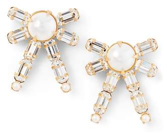 Ralph Lauren Bow Crystal Earrings