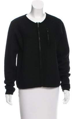 The North Face Wool Zip-Front Cardigan