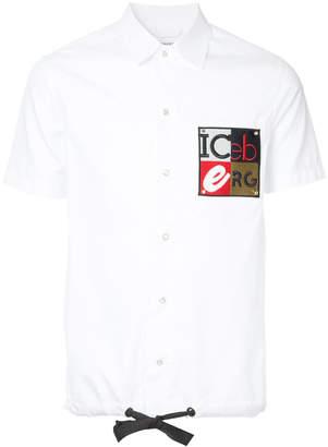 Iceberg drawstring polo shirt