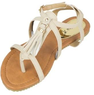 Victoria K Strappy Tassel Fashion Sandals
