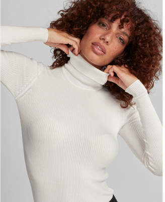 Express ribbed turtleneck sweater $49.90 thestylecure.com