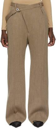 Jil Sander Brown Wool Floyd Trousers