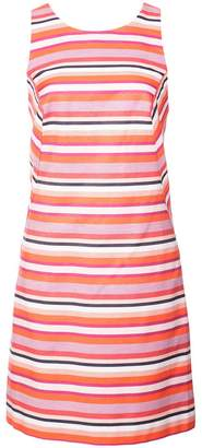 Trina Turk engineered stripe racerback fitted dress