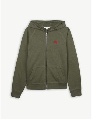 Burberry Logo cotton hooded jacket 4-14 years