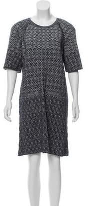Chanel Paris-Dubai Matelassé Dress blue Paris-Dubai Matelassé Dress