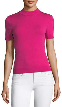 Milly Mod High-Neck Top