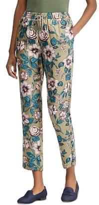 Ralph Lauren Floral-Print Drawstring Pants