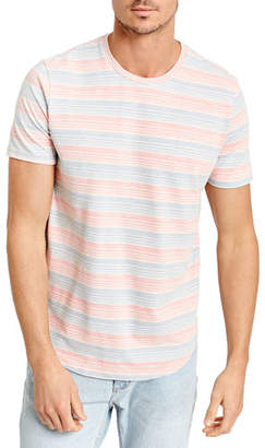 Sol Angeles Men's Twill Stripe Crewneck T-Shirt