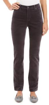 Charter Club Velveteen Tummy-Control Ankle Straight Jeans, Created For Macy's