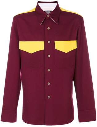 Calvin Klein pocket detail shirt