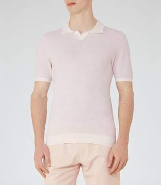 Reiss Thompson Textured Polo Shirt
