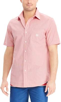 Chaps Big & Tall Classic-Fit Easy-Care Woven Button-Down Shirt