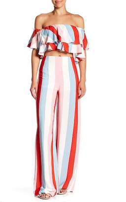 Do & Be Do + Be Striped Wide Leg Pants