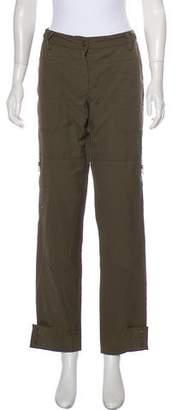 Veronica Beard Mid-Rise Cargo Pants