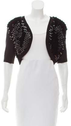 MICHAEL Michael Kors Sequin Knit Cardigan