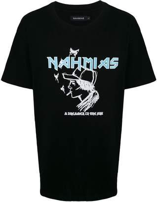 Nahmias logo print T-shirt
