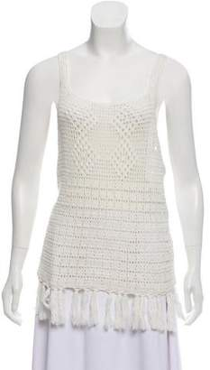 Joie Sleeveless Crochet Top w/ Tags