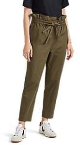 Women's Stello Cotton Pants - Beige/Khaki Size 34