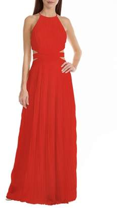 TFNC Boston Cutout Maxi Dress