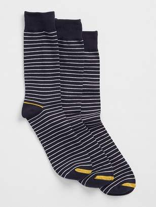Gap Stripe crew socks (3-pack)