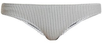 Made by Dawn Petal 2 Bikini Briefs - Womens - Blue Stripe
