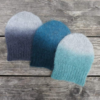 Aura Que Mohair Digo Ombre Hat In Three Colours