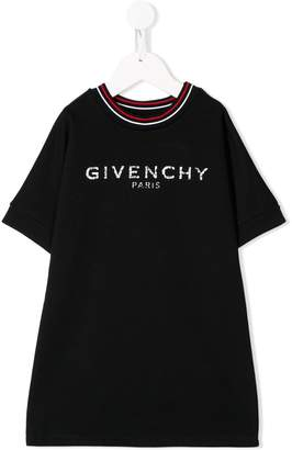 Givenchy Kids logo print T-shirt dress
