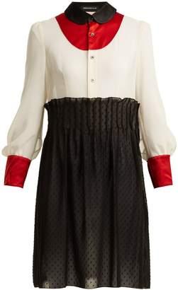 Undercover Peter Pan-collar chiffon dress