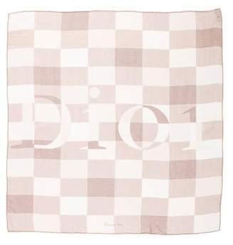 Christian Dior Silk Printed Scarf