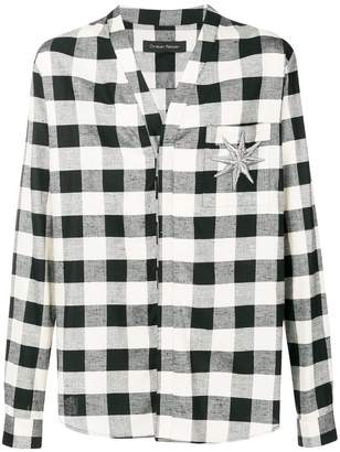 Christian Pellizzari plaid shirt