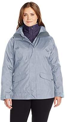 Columbia Women's Plus-Size Sleet to Street Interchange Jacket Plus