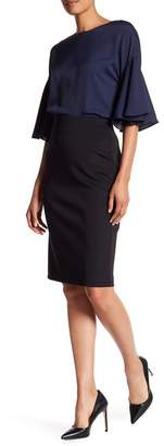 Catherine Catherine Malandrino Exposed Zipper Slim Skirt $68 thestylecure.com