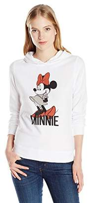 Disney Women's Mickey Women's Cozy Fleece Drawstring Hoodie