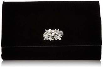 Jessica McClintock Nora Velvet Large Envelope Evening Clutch