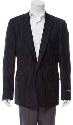 Dolce & Gabbana Pinstriped Wool Blazer w/ Tags